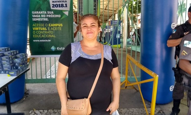 Cláudia Pereira da Silva quer fazer Serviço Social