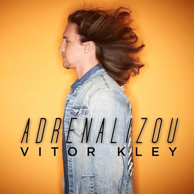 Capa do novo álbum de Vitor Kley, Adrenalizou (Foto: Reprodução/Instagram)