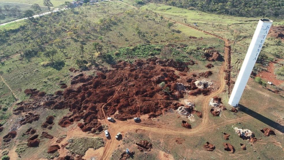 Reunião deve definir medidas para impedir garimpo ilegal de chumbo  — Foto: Reprodução/TV TEM