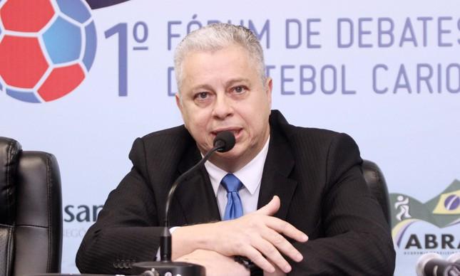 Jorge Rabello, presidente da comissão de arbitragem da Ferj