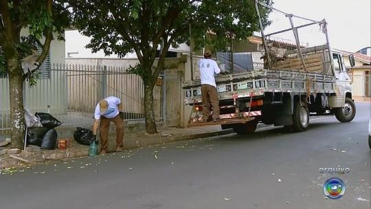 São Pedro do Turvo recebe mutirão do projeto Cidade Limpa
