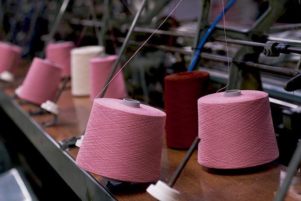 Cashmere - Fios longos feitos a partir  da lã da Mongólia (Foto: O.Saillant, Lucile Perron)