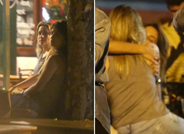 Fernanda Gentil e Priscila Montandon (Foto: AgNews/Reprodução)