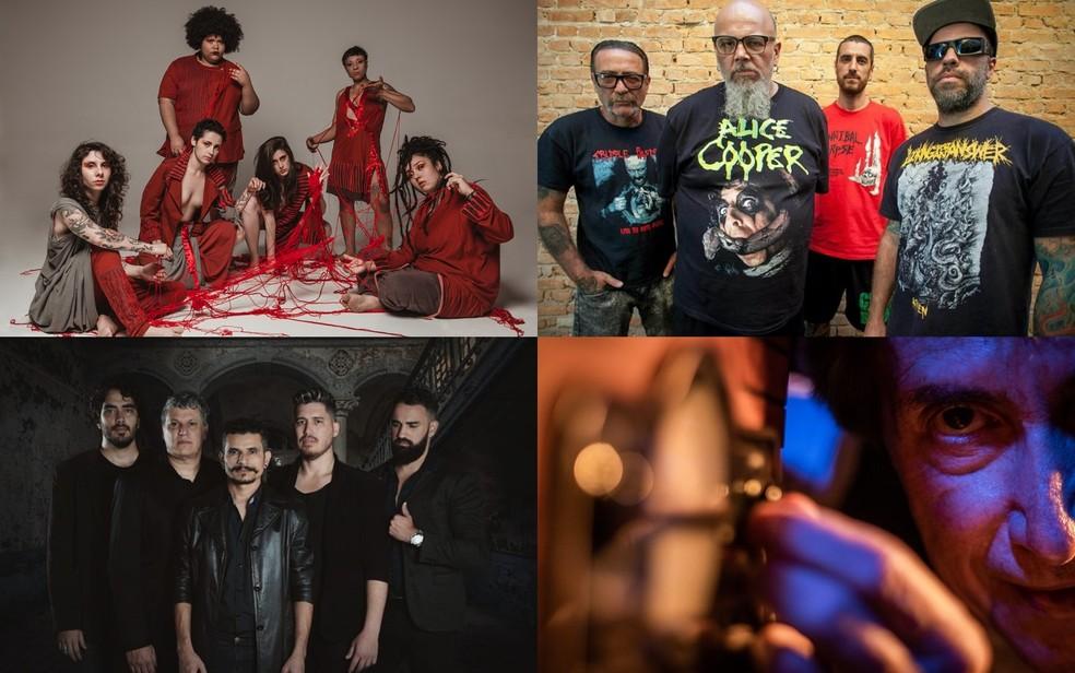 O festival recebe entre as atrações, as bandas Mulamba, Ratos de Porão, Two Welves e o cantor Odair José, em Goiânia, Goiás — Foto: Assessoria Goiânia Noise Festival/Divulgação