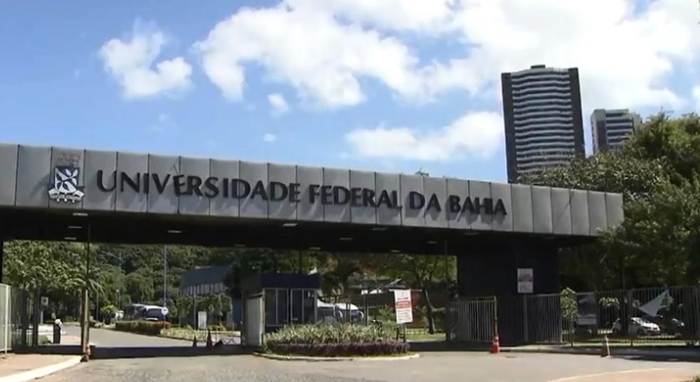 Campus da UFBA em Ondina — Foto: Reprodução/ TV Bahia