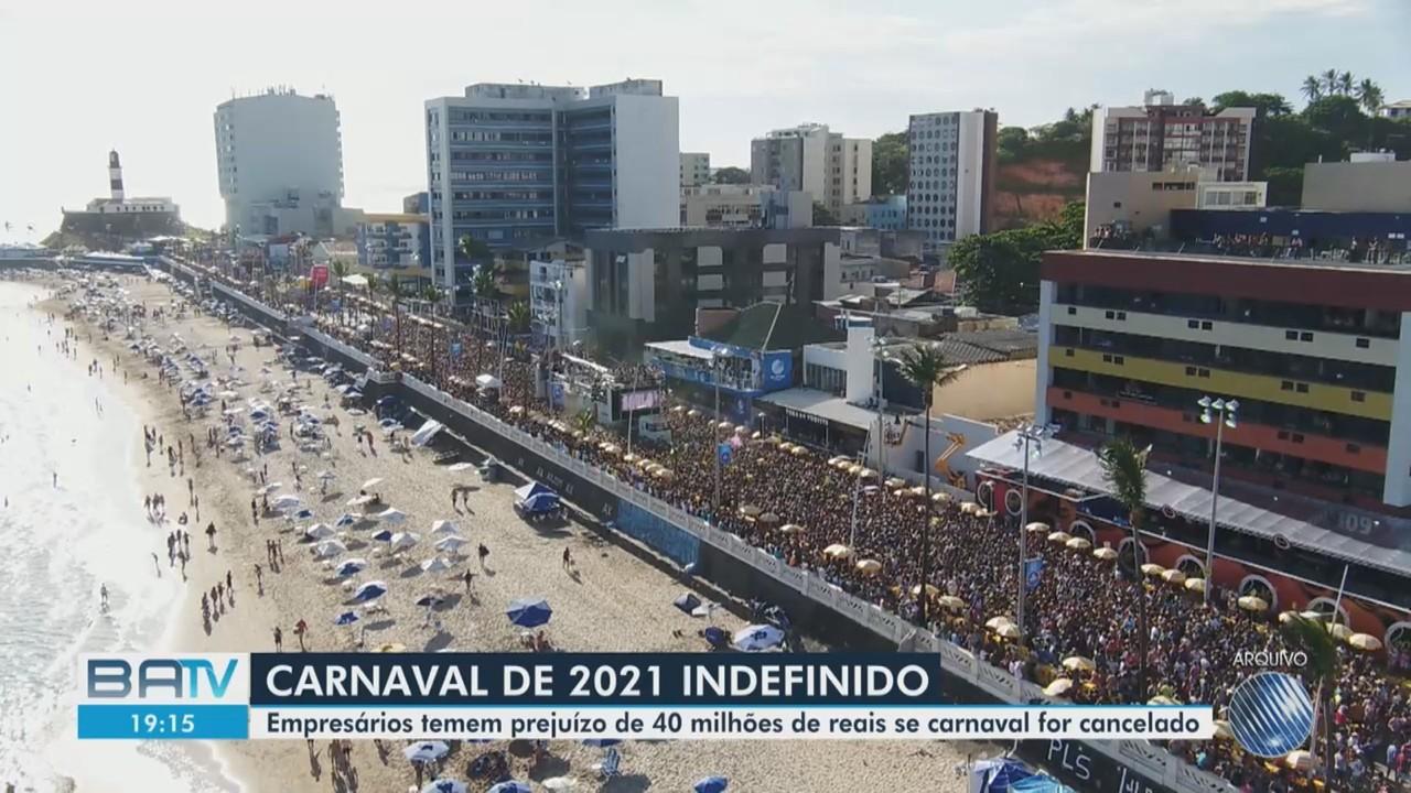 Envolvidos no carnaval de Salvador aguardam decisão sobre a realização da festa em 2021