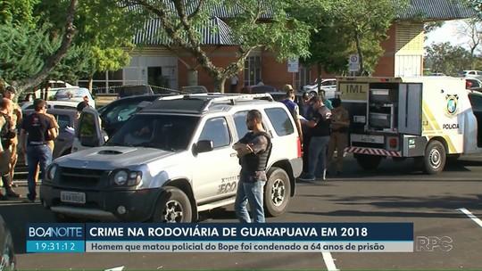 Homem que matou policial do Bope em Guarapuava é condenado a 64 anos de prisão