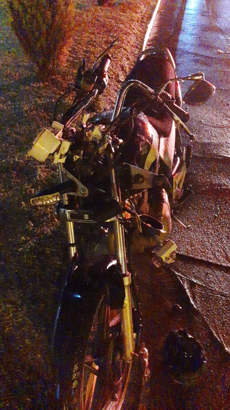 Motociclista de 29 anos morre vítima de acidente de trânsito no trevo de acesso a Parapuã