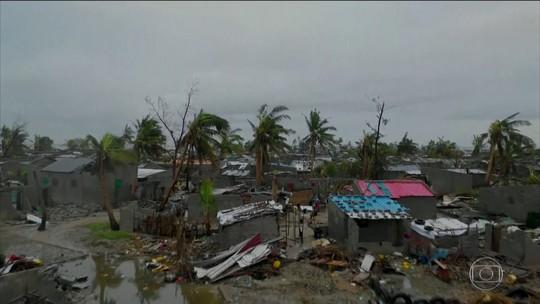 Passagem de ciclone deixa pelo menos mil mortos em Moçambique