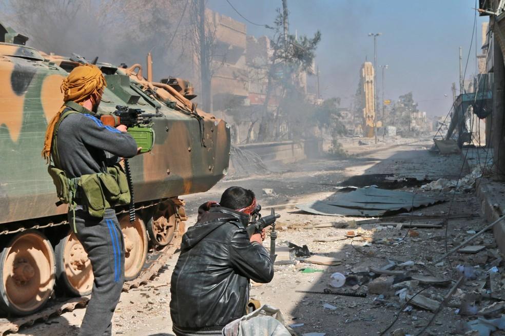 Resultado de imagem para último reduto do Estado Islâmico na Síria