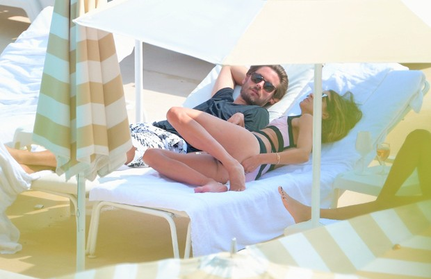 Scott Disick e Chloe Bartoli (Foto: Grosby Group)