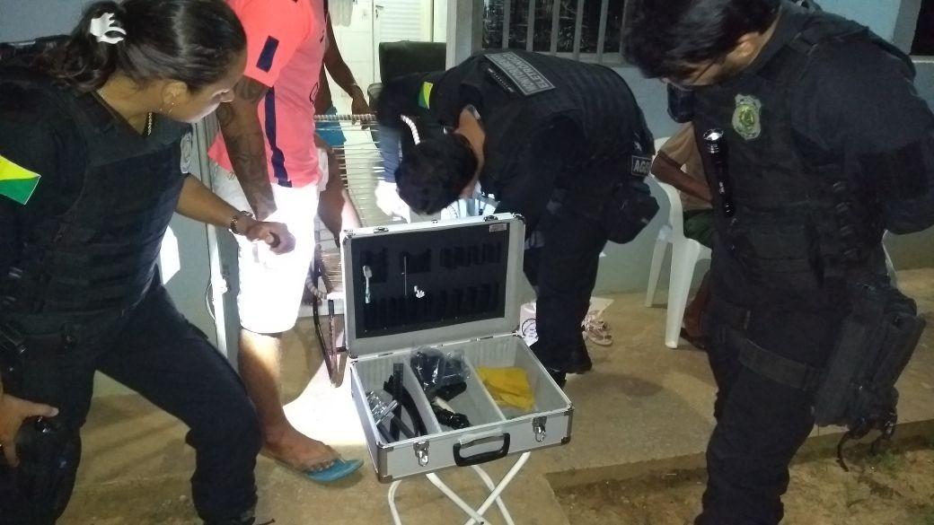 Iapen fiscaliza 155 presos do semiaberto que moram na região do Segundo Distrito de Rio Branco