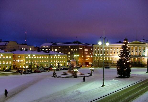 Helsinque - Finlândia (Foto: (Foto: Jonik/Wikipedia))