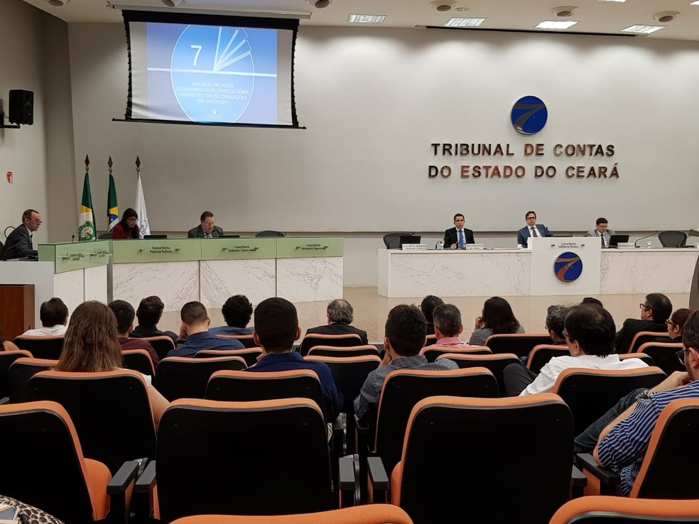 Tribunal de Contas do Ceará — Foto: José Leomar/G1