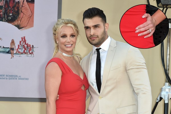 Britney Spears e Sam Asghari (Foto: Getty Images)