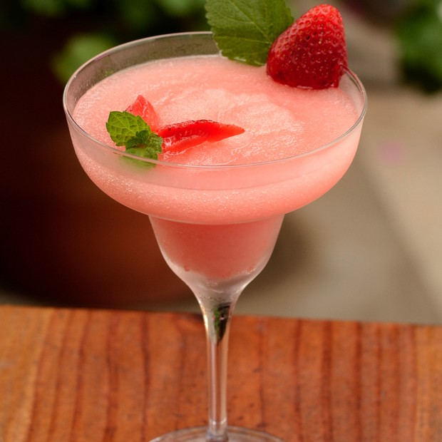 Drink Frosé, do Bistrot de Paris (Foto: Wellington Nemeth)
