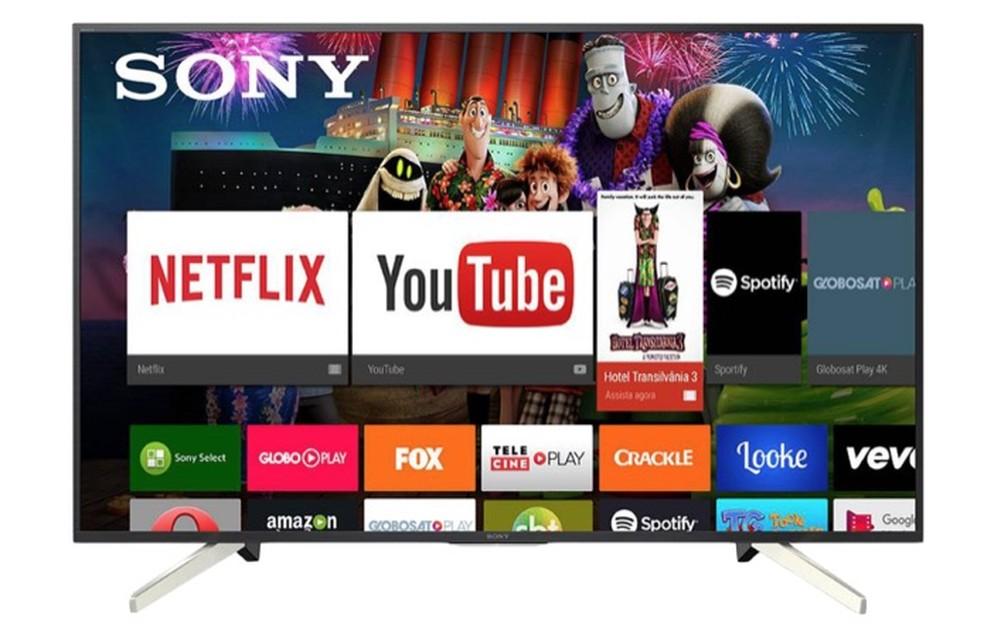 TVs com sistema operacional Android mais recente trazem Google Assistente — Foto: Divulgação/Sony