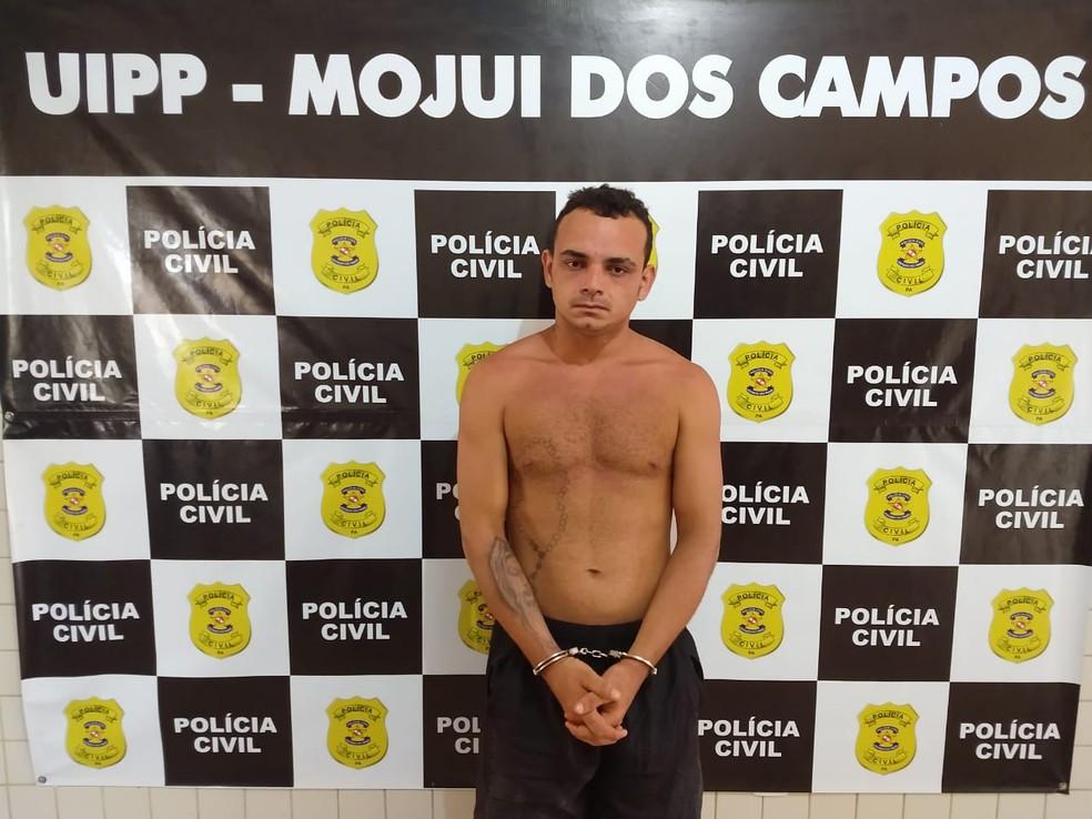 Arlison da Silva, de 24 anos, foi preso em flagrante — Foto: Polícia Civil/Divulgação