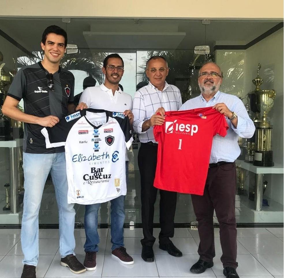 8fe5444acb733 ... Iesp e Botafogo-PB firmaram parceria no voleibol — Foto  Divulgação    Iesp