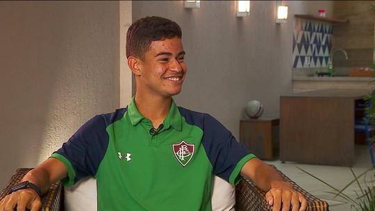Aos 16 anos, Miguel se inspira em Cristiano Ronaldo e deve ter nova chance no Fluminense