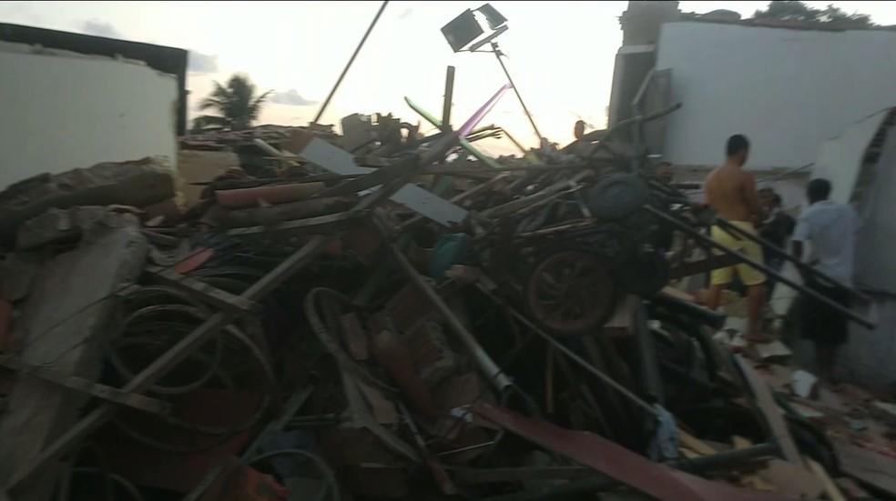 Tragédia aconteceu em Mãe Luiza — Foto: Reprodução