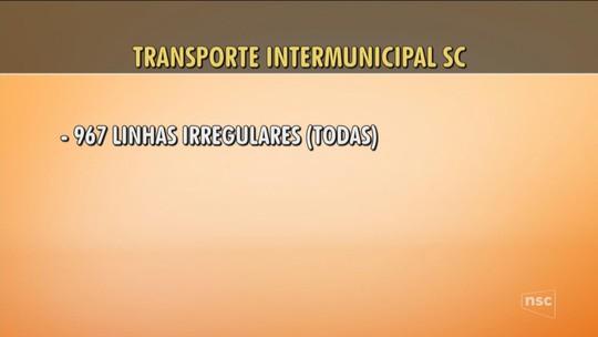 MPSC entra com ação na Justiça para pedir licitação de 917 linhas de transporte intermunicipal de SC
