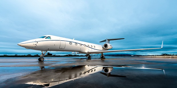 Gulfstream G550 (Foto: Divulgação)