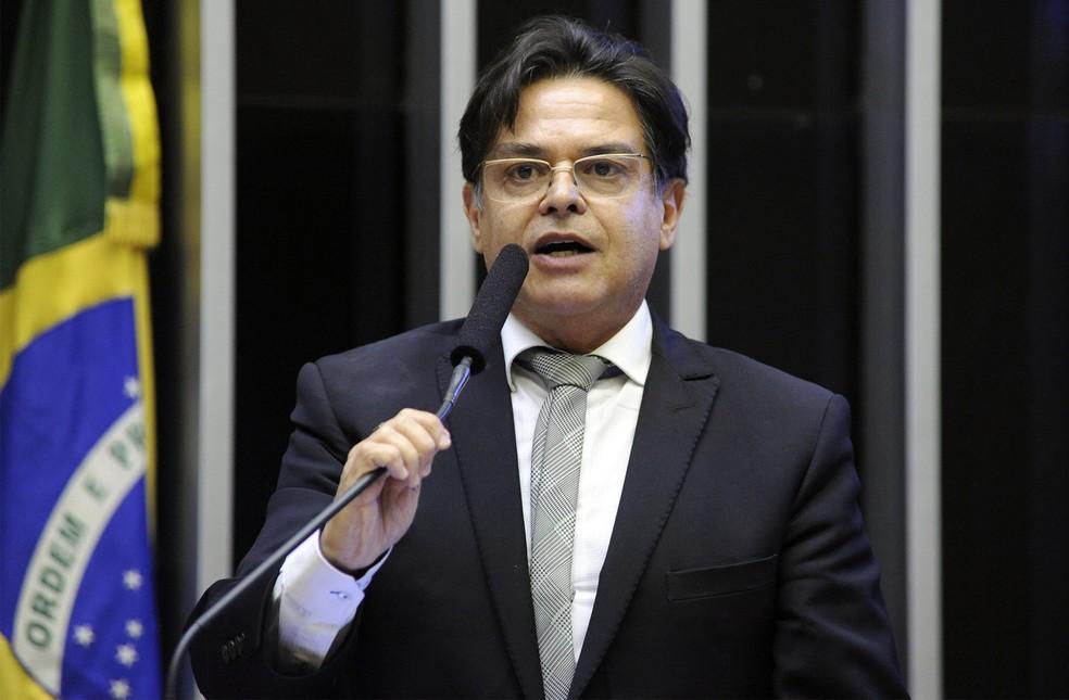 O deputado federal Eduardo Barbosa (PSDB-MG) discursa na Câmara dos Deputados — Foto: Luis Macedo/Câmara dos Deputados