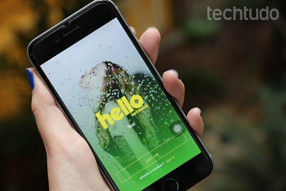 Hello foi desenvolvida pelo mesmo criador do Orkut — Foto: Anna Kellen Bull/TechTudo