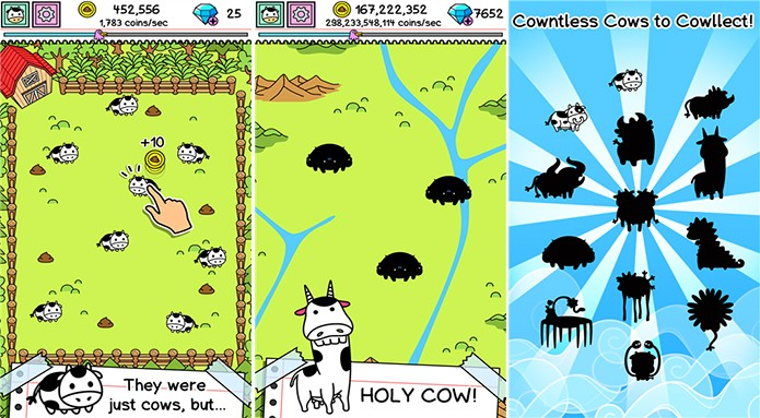 Cow Revolution é um divertido game para Windows Phone (Foto: Divulgação/Windows Phone Store)