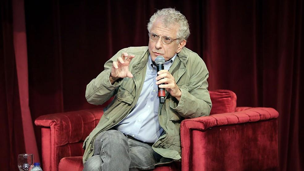 Contardo Calligaris em palestra em 2020 — Foto: Ares Soares / Universidade de Fortaleza
