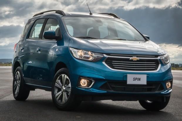 Chevrolet Spin Activ LTZ 2019 (Foto: Divulgação)