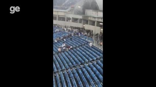 Vídeo mostra quebra-quebra na Arena das Dunas após final do Campeonato Potiguar