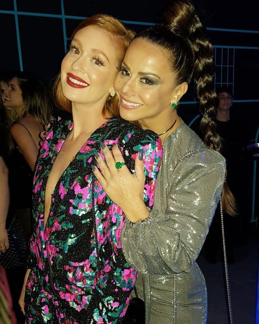 Marina Ruy Barbosa e Viviane Araújo (Foto: Reprodução Instagram)