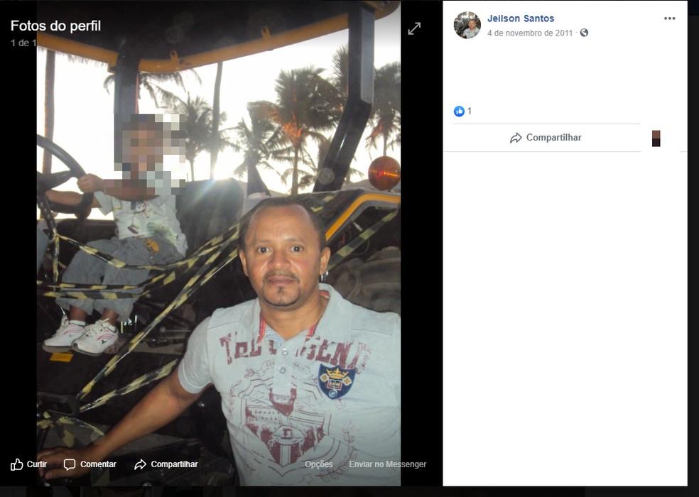 Jeilson Pereira dos Santos, 46 anos — Foto: Reprodução/Redes Sociais