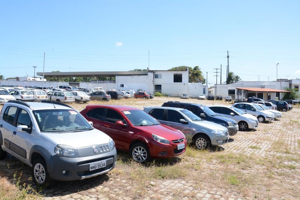 Veículos apreendidos pelo Detran/RN vão a leilão na segunda-feira (25) — Foto: Detran/Divulgação