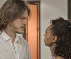 Caio Paduan e Dandara Mariana em 'Verão 90'  | Reprodução