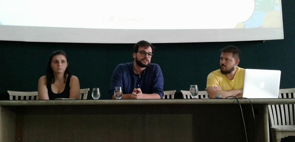 Superintendente apresentou novidades em coletiva na Funalfa (Foto: Fellype Alberto/G1)