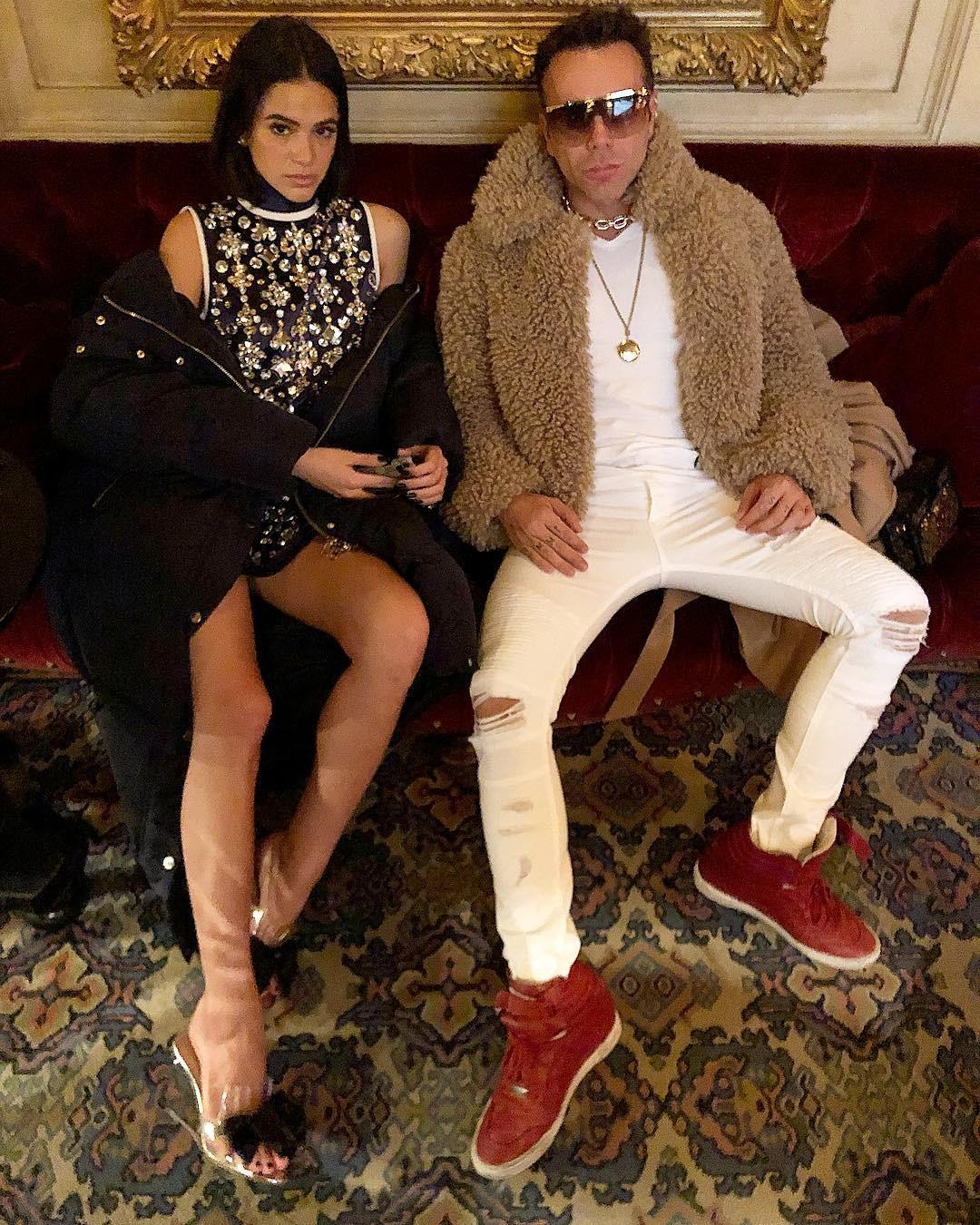 Bruna Marquezine e Matheus Mazzafera em Paris (Foto: Reprodução / Instagram)