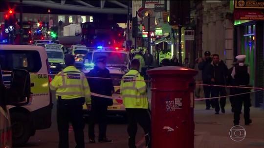 Ataque a faca na Ponte de Londres deixa mortos e feridos