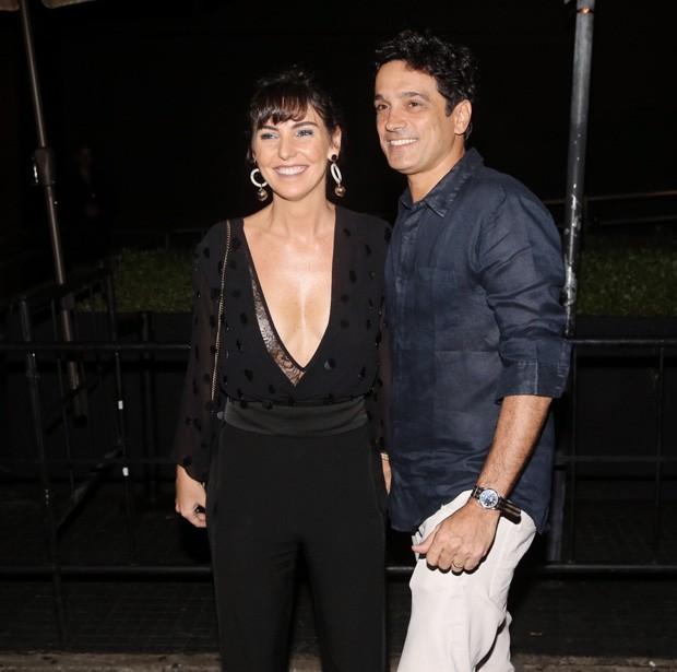 Glenda Kozlowski e Luis Tepedino (Foto: Manuela Scarpa e Marcos Ribas/Brazil News)