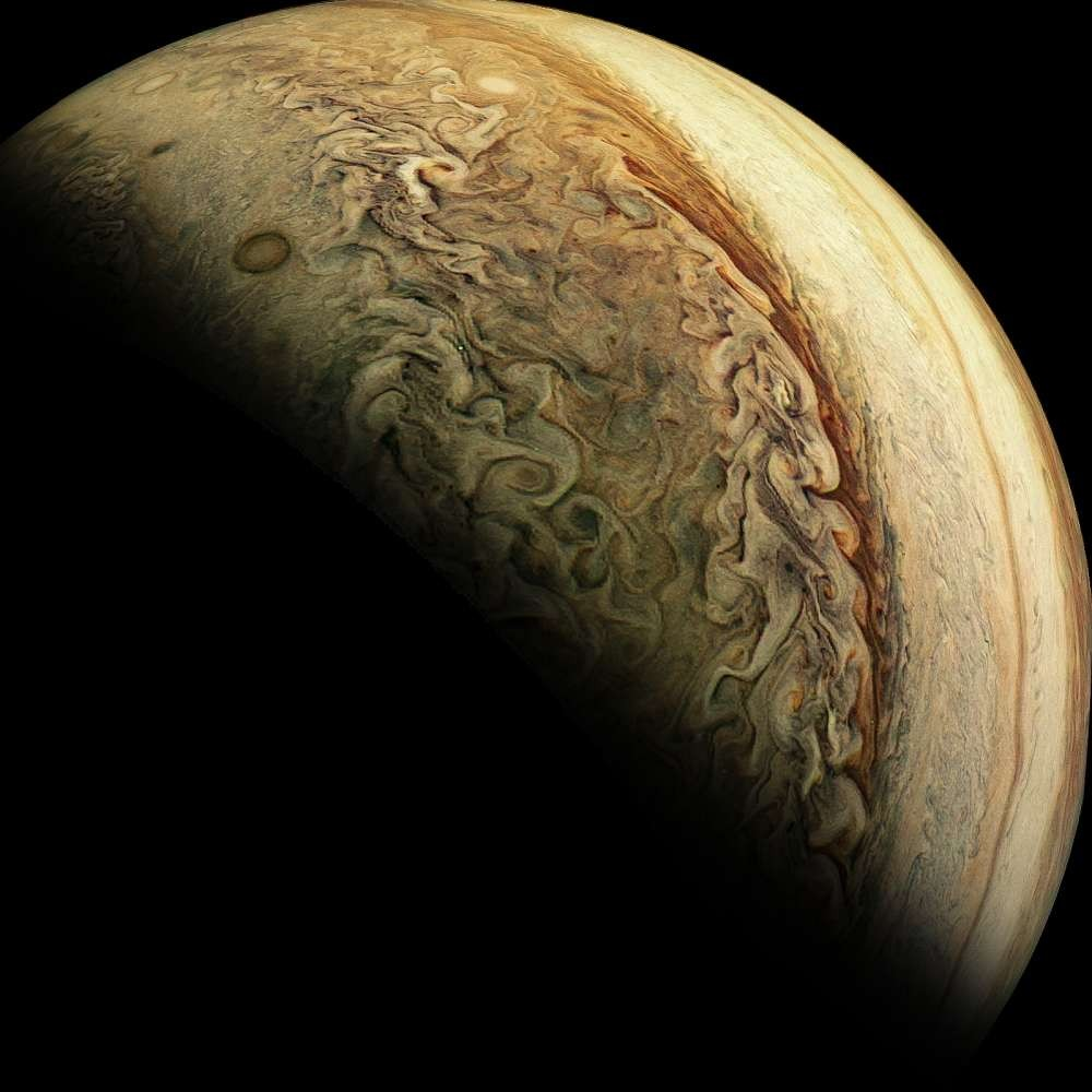 Júpiter (Foto: NASA/Laura J Martin/ Divulgação)
