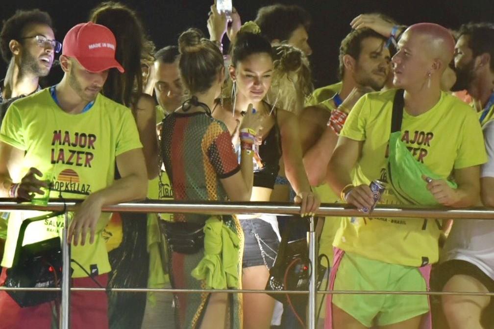 Bruna Marquezine no carnaval — Foto: Elias Dantas/Ag. Haack