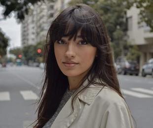 Carolina Oliveira, em Buenos Aires | Reprodução