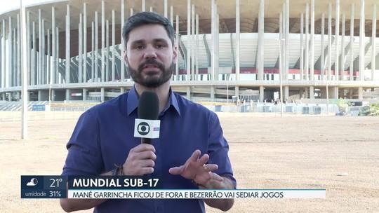 Mané Garrincha ficou fora do mundial sub-17