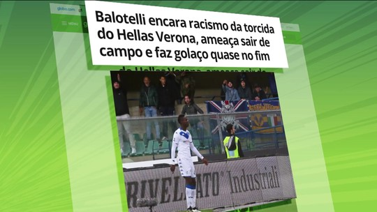 Verona terá que jogar com parte da arquibancada fechada como punição por racismo a Balotelli