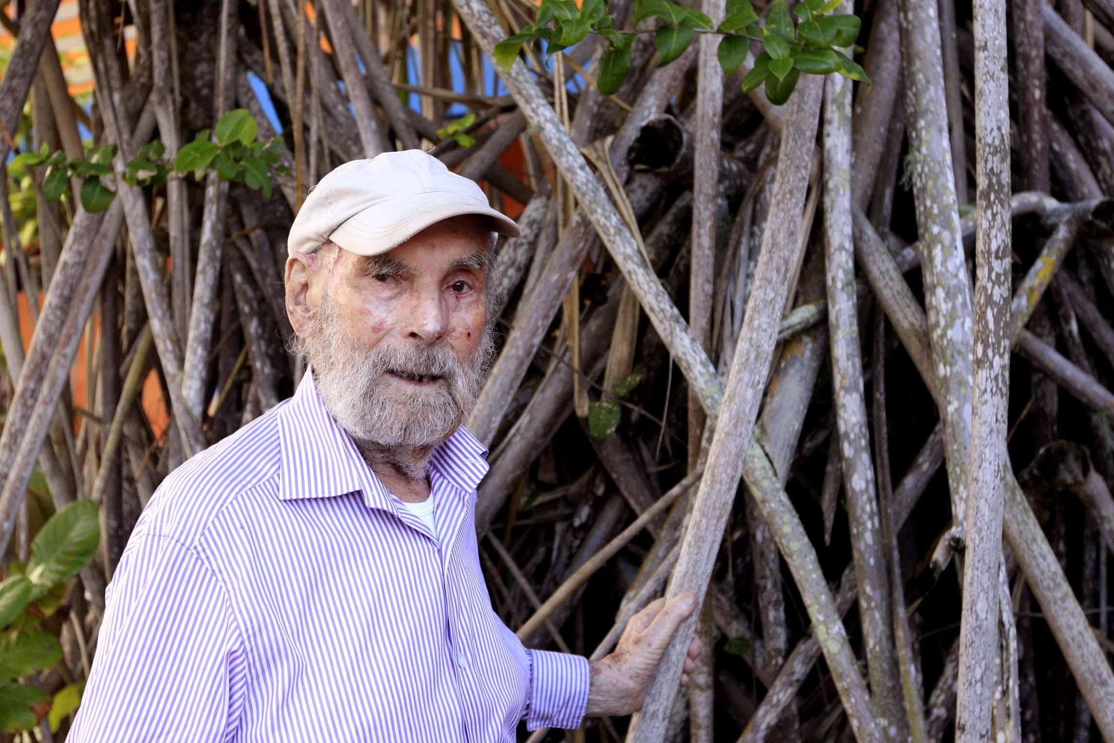 Frans Krajcberg, artista plástico, morre aos 96 anos no Rio