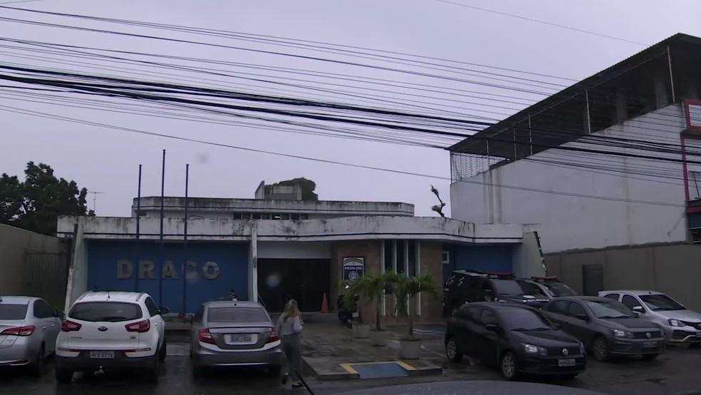 Operação é vinculada ao Departamento de Repressão à Corrupção e ao Crime Organizado (Draco) — Foto: Reprodução/TV Globo