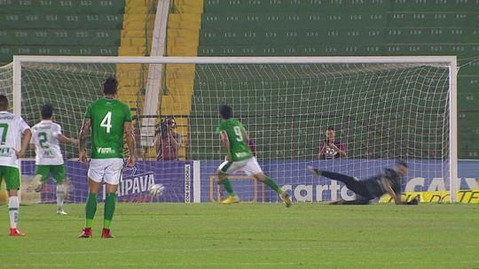 O gol de Guarani 1 x 0 Juventude pela 27ª rodada da Série B do Brasileirão
