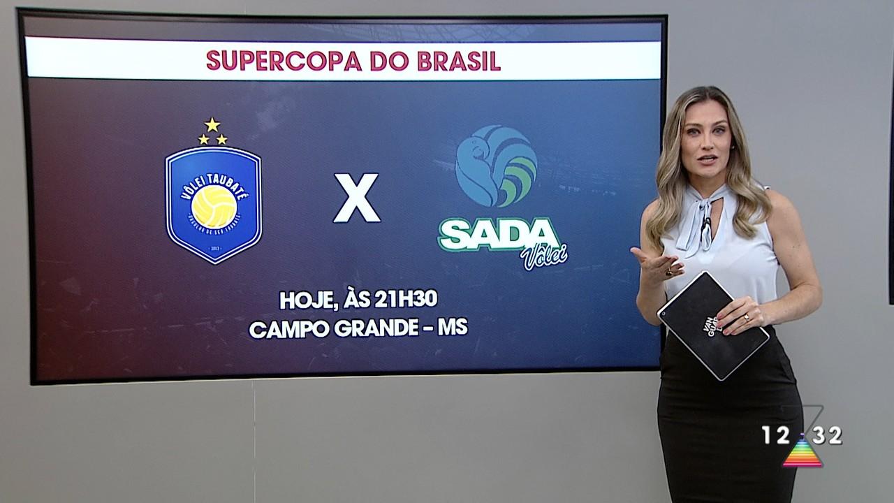 Taubaté joga com Cruzeiro pelo Supercopa do Brasil